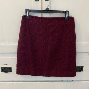 Cranberry Loft mini skirt